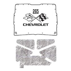Hood Insulation Pad Heat Shield For 1952-1993 Gmc Sonoma Under Cover W/ceid-265