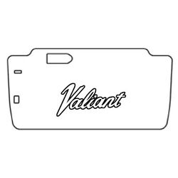 Trunk Floor Mat Cover And Insulation For 1963-1966 Plymouth Valiant