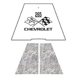 Hood Insulation Pad Heat Shield For 1949-1952 Chevrolet Under Cover W/ceid-265