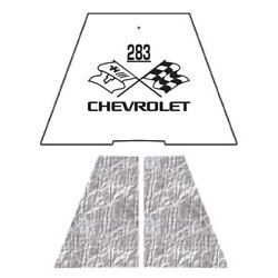 Hood Insulation Pad Heat Shield For 1949-1952 Chevrolet Under Cover W/ceid-283
