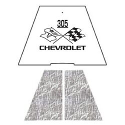 Hood Insulation Pad Heat Shield For 1949-1952 Chevrolet Under Cover W/ceid-305