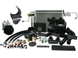 Hurricane Complete Package For 1968-72 Ford Truck P/s Compressor [cap-6872e-ps]