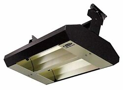 Tpi 22260th208v Series Th Mul-t-mount Electric Infrared Heater With 2 Clear Qua
