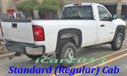 Fender Flares For 2007-2013 Chevy Silverado Reg And Extended Cab Std And Long Bed
