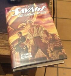 Doc Savage The Miracle Menace 2013 Signed First Will Murray Hc Free Us Shipping