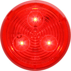 Optronics Mcl-57rb Sealed Red Led Clearance And Side Marker Light