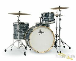 Gretsch 4pc Renown Drum Set Silver Oyster Pearl Rn2-r644