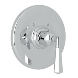 Rohl A4814lmapc Palladian Thermostatic Trim Plate Without Volume Control Chrome