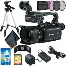 Canon XA15 Compact Full HD Camcorder with 64GB Memory Card + Wallet