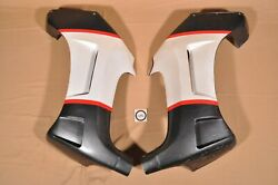 Vtg Oem 1987 Cagiva Allazurra Ss650 Left And Right Body Panel Cowling Cowl Fairing