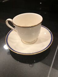 Lenox Urban Twilight American Home Collection Cup And Saucer Set Of 4