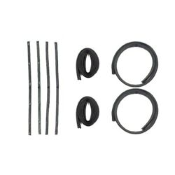 Window Sweeps Felt Kit Front Left And Right Hand 8pc For 1961-1971 Dodge Pickup