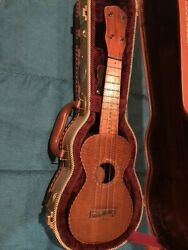 Vintage 1920s Soprano Solid Koa Ukulele. Highly Figured In Perfect Condition.andnbspandnbsp