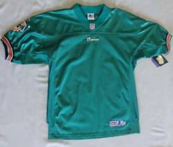 Nfl 1998 Starter Miami Dolphins Authentic Teal Jersey Blank 48 Nwt