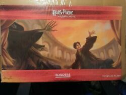 Harry Potter Deathly Hallows Borders Midnite Release Poster Signed Mary Grandpre