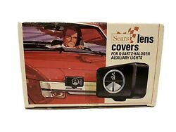 Vintage Car Parts Sears Lens Covers 2 In Box