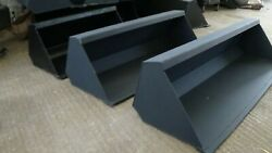 New Compact Tractor Loader Bucket, 3ft/ 4ft And 5ft Widths Available