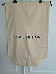 Louis Vuitton Authentic Xxl Large Cotton Drawstring Keepall Neoneo Dust Bags