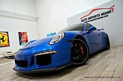2014 Porsche 911 GT3 2dr Coupe 2014 Porsche 911 GT3 2dr Coupe 24553 Miles Blue Coupe 3.8L H6 Automatic 7-Speed