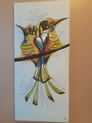 Birds of joy paint