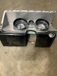 1963 Buick Riviera Dash Gauge Cluster With Ignition Switch Rare