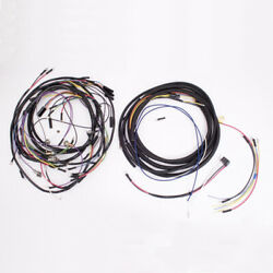 Wiring Harness With Cloth Cover 57-65 Jeep Cj5