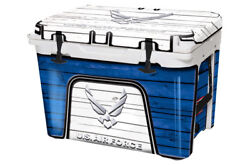 Usatuff Wrap Decal Full Kit Fits Yeti Tundra 65 Cooler - Us Air Force