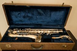 Vintage Tenor Saxophone Buffet Crampon Dynaction Made In France Paris French Sax