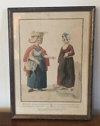 Antique Print Colnaghi And Co. 45 Cockspur Street 1811 Women From The Hague 19th C
