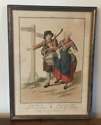Antique Print Colnaghi And Co. 45 Cockspur Street 1811 Dutch Costume 19th C