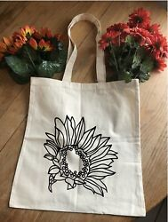SunflowerTote Bag. Beach Totes amp; Grocery Shopping $6.99