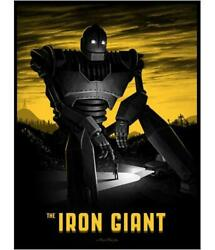 The Iron Giant By Mike Mitchell Numbered Xx/400 Mondo