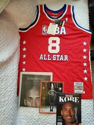 Bnwt Authentic Mitchell And Ness All Star Game Lakers Kobe Bryant 03 Jersey Sz 2xl