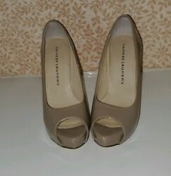 Chinese laundry leather designer Pumps High Heels 6.5