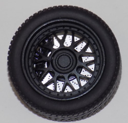 118 AB Models Wheels and Tires Set 18