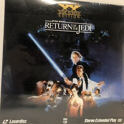 Unopened 1990 Star Wars Return Of The Jedi Laserdisc Extended Play Wide Screen
