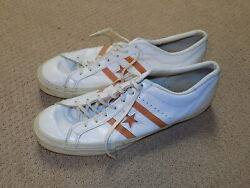 University Of Tennessee Game Worn Basketball Shoes Converse Chuck Taylor 1970s