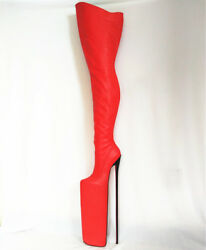 50cm High Height Sex Boots Platform Stiletto Heel Over The Knee Boots No.y5004
