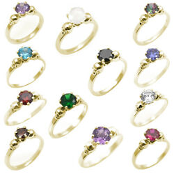 Skull Rings 6 Claw 1ct Various Colours Diamond Unique 9ct Yellow Gold Engagement