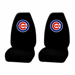 New Mlb Chicago Cubs Seat Covers High Back Licensed Pair