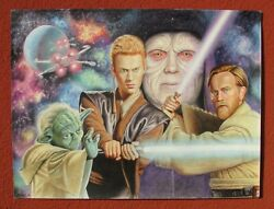 Star Wars Episode Ii Attack Of The Clones, Watercolor And Color Pencil By Bhakti
