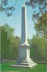 Granite Shaft Which Records The Names Of Those Pioneers, August, Kentucky