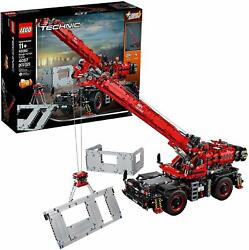 Lego 42082 Technic Rough Terrain Crane Building Kit 4057 Pieces New And Sealed ✅✅✅