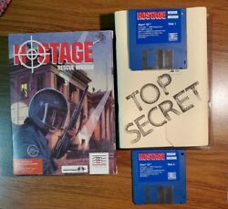 Hostage Rescue Mission Atari St With Briefing Booklet