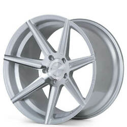 4 20 Staggered Ferrada Wheels F8-fr7 Machined Silver Fit Chargerb31
