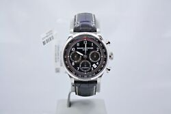 New Baume And Mercier Capeland Chronograph 42mm Stainless Steel Watch M0a10084