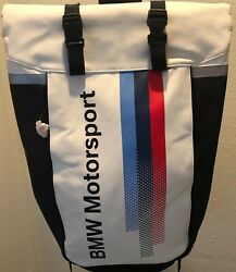 BMW MOTOR SPORTS BAG NEW BACKPACK GREAT GIFT