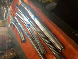 1955 Chevy 2 Door Outside Stainless Belt Line Window Molding