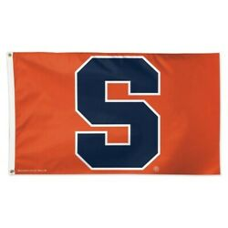 Syracuse Orange 3x5 Flag Deluxe Banner Ncaa College Single Sided Sports Decor