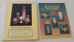 Collectors Encyclopedia Of Roseville Pottery Huxford 2nd Series And Price Guide